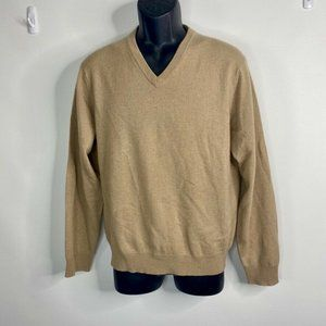 Club Room 100% 2 ply Estate Cashmere Sweater S